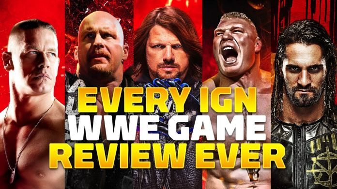 WWE has a long running history with its video game releases with over 50 reviews on IGN. Our slideshow features each one along with its final score!