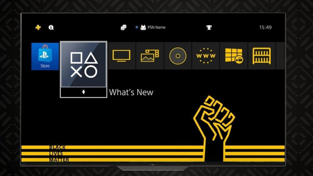 PlayStation releases free Black Lives Matter PS4 theme