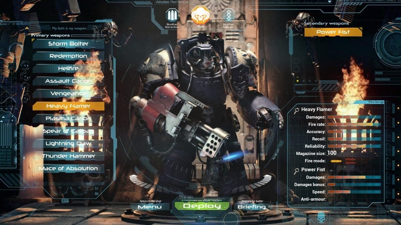 Space Hulk Deathwing Gameplay Trailer IGN Video