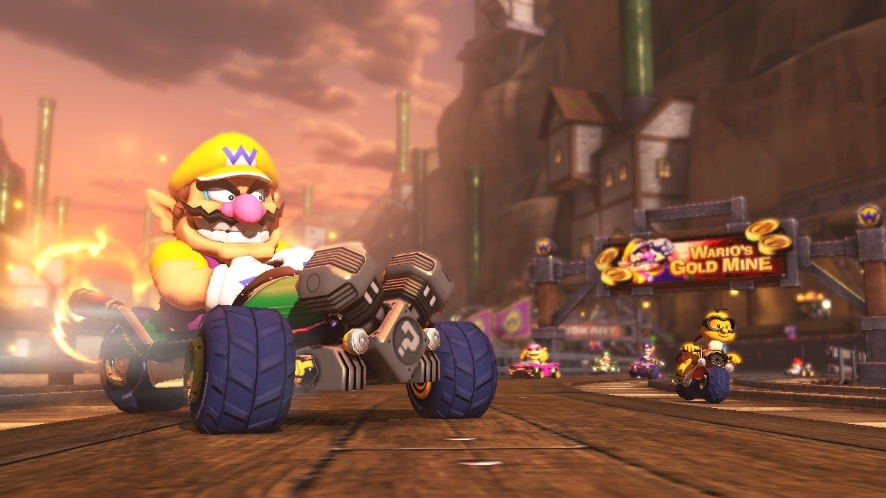 Mario Kart 8 Warios Gold Mine IGN Video
