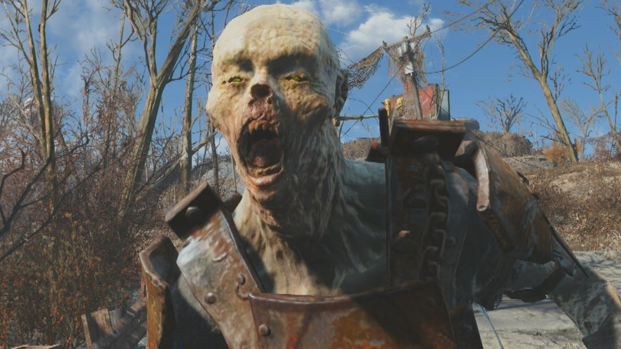 100 Fallout 4 Raiders Battle 25 Powerful Ghoul Reavers Fallout 4 Face Off IGN Video