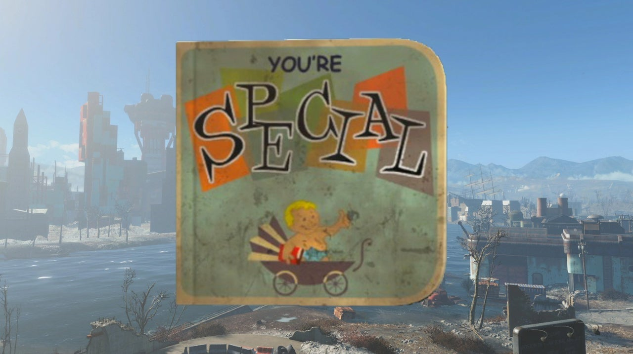Youre SPECIAL Book Location Fallout 4 IGN Video