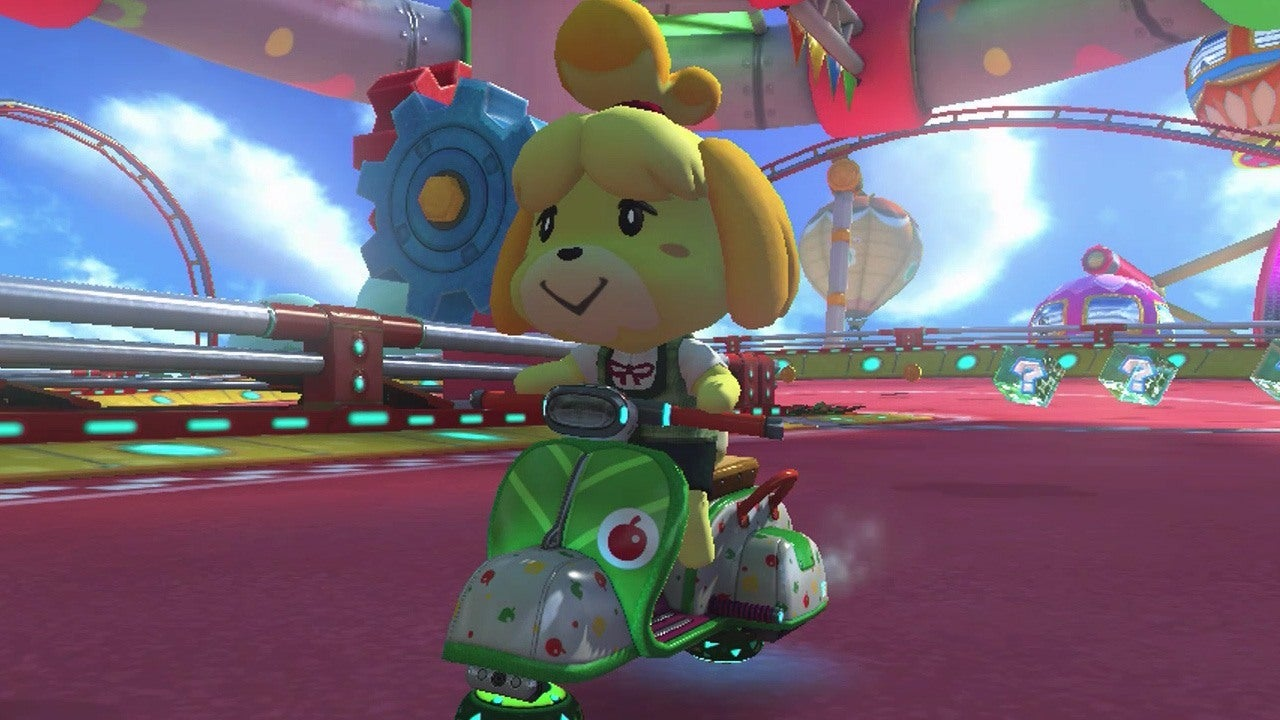 Mario Kart 8 Baby Park GCN New Makeover IGN Video