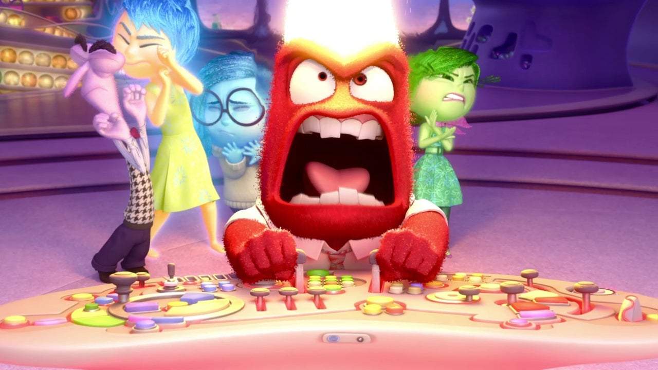 Inside Out Disgust Amp Anger Clip IGN Video