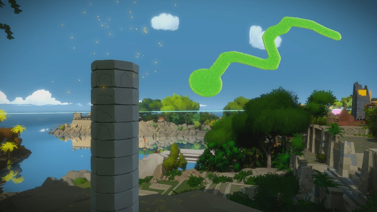 The Witness All Environmental Puzzles Monastery Obelisk