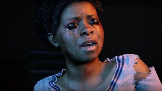 Cassandra depois de ver os vídeos de bugs e os comentários no Steam sobre o jogo no qual entra.