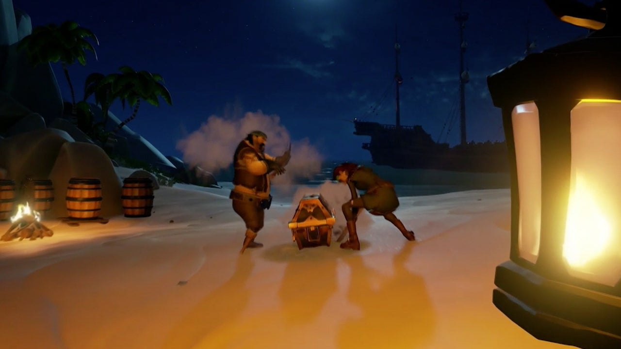Sea Of Thieves Release Date Trailer IGN Video