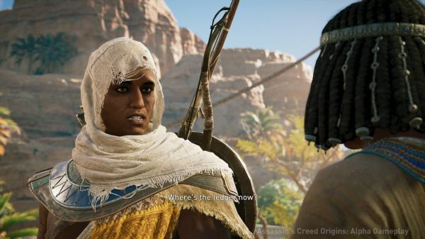Assassin's Creed Origins: Xbox One X Combat and Quest ...
