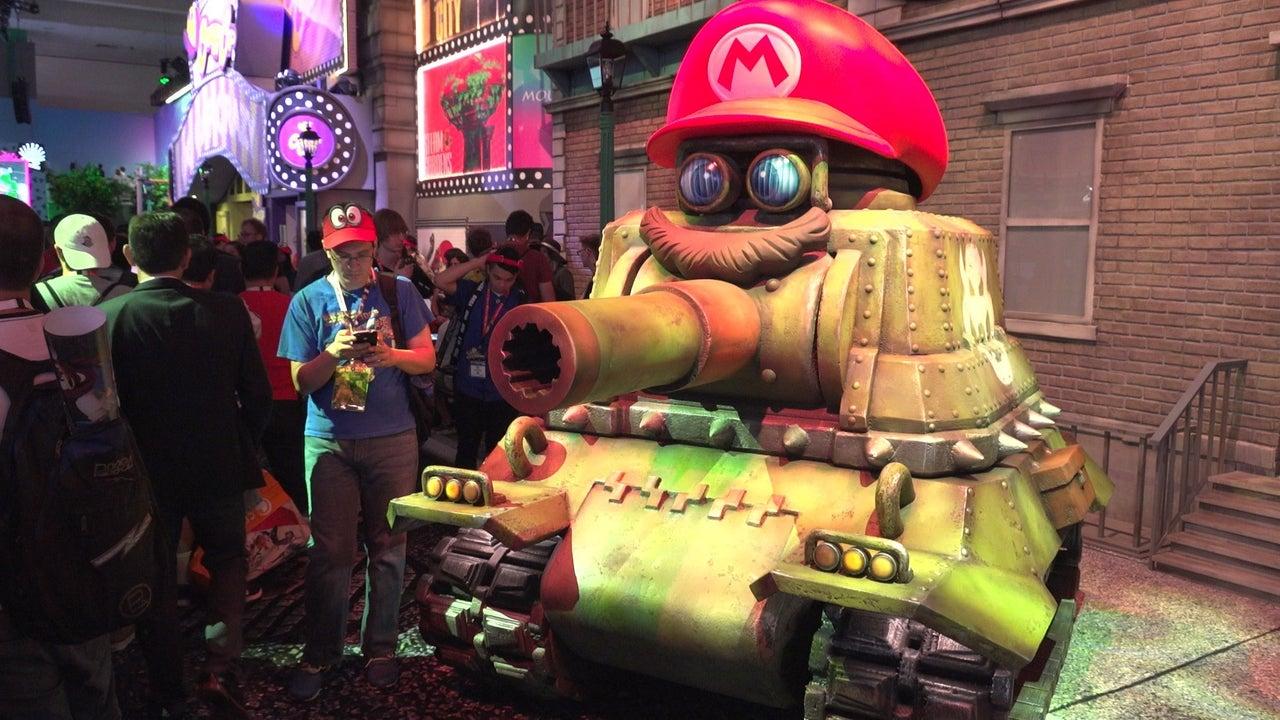 Nintendos Super Mario Odyssey E3 2017 Booth Is Amazing