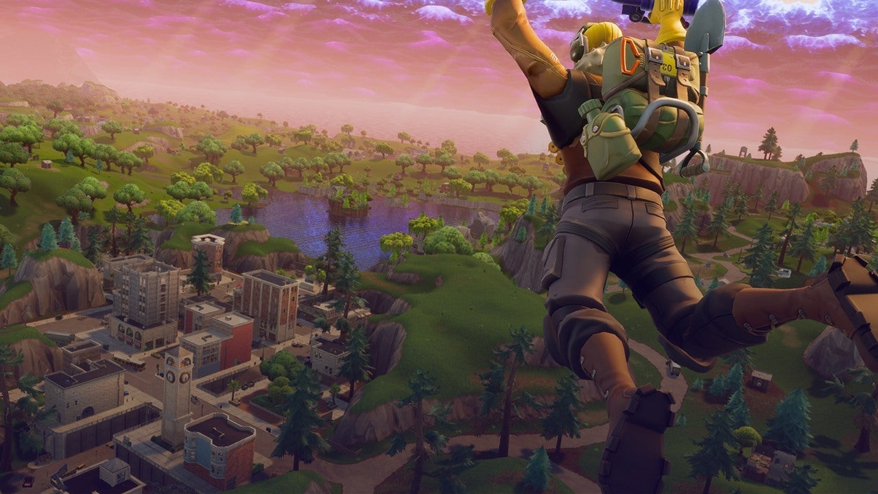 Where To Land In Fortnite Battle Royale IGN Video