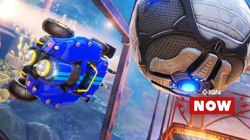 Rocket League Official Xbox One Launch Trailer - IGN