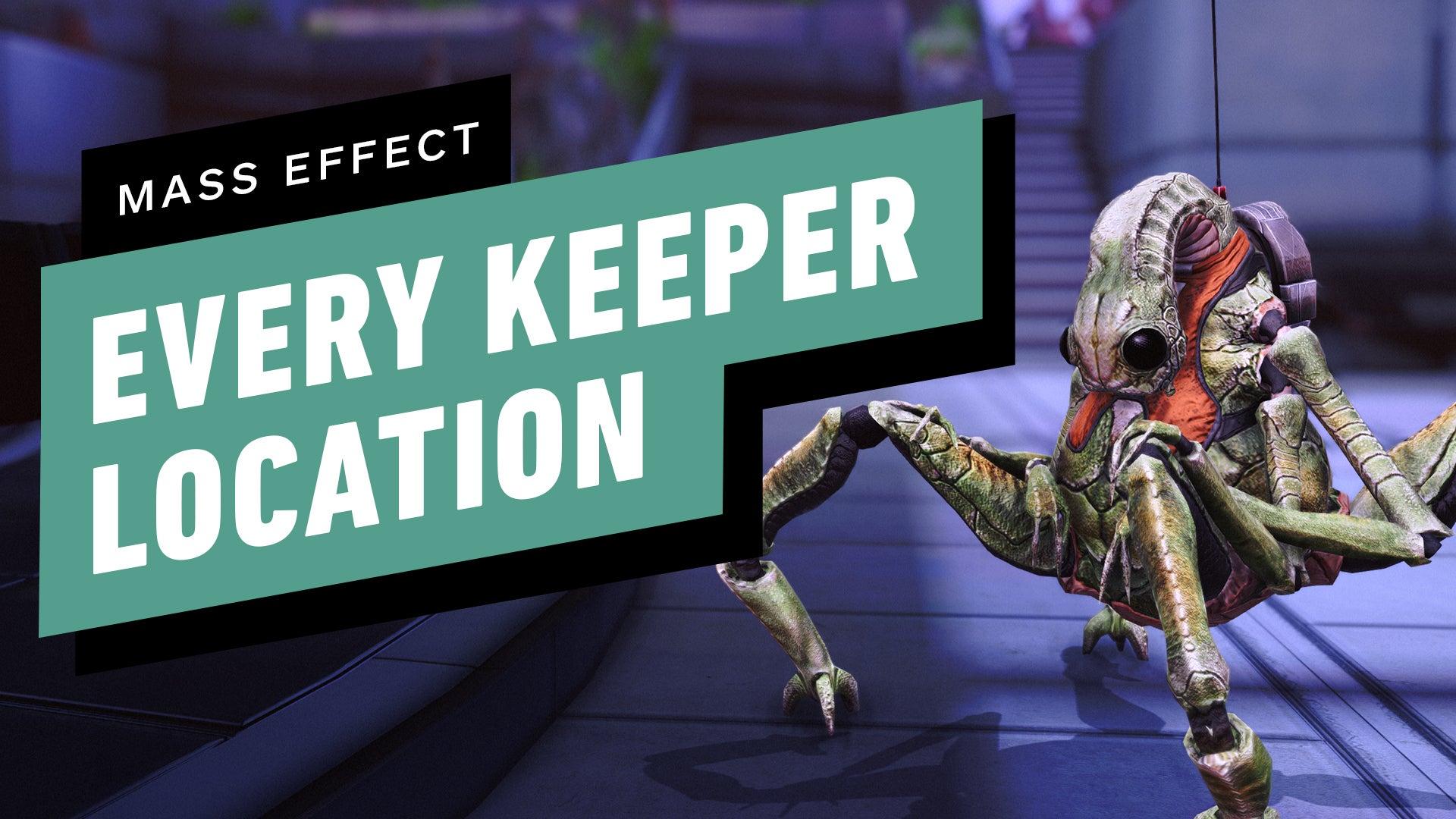 Mass Effect - All Citadel Keeper Locations