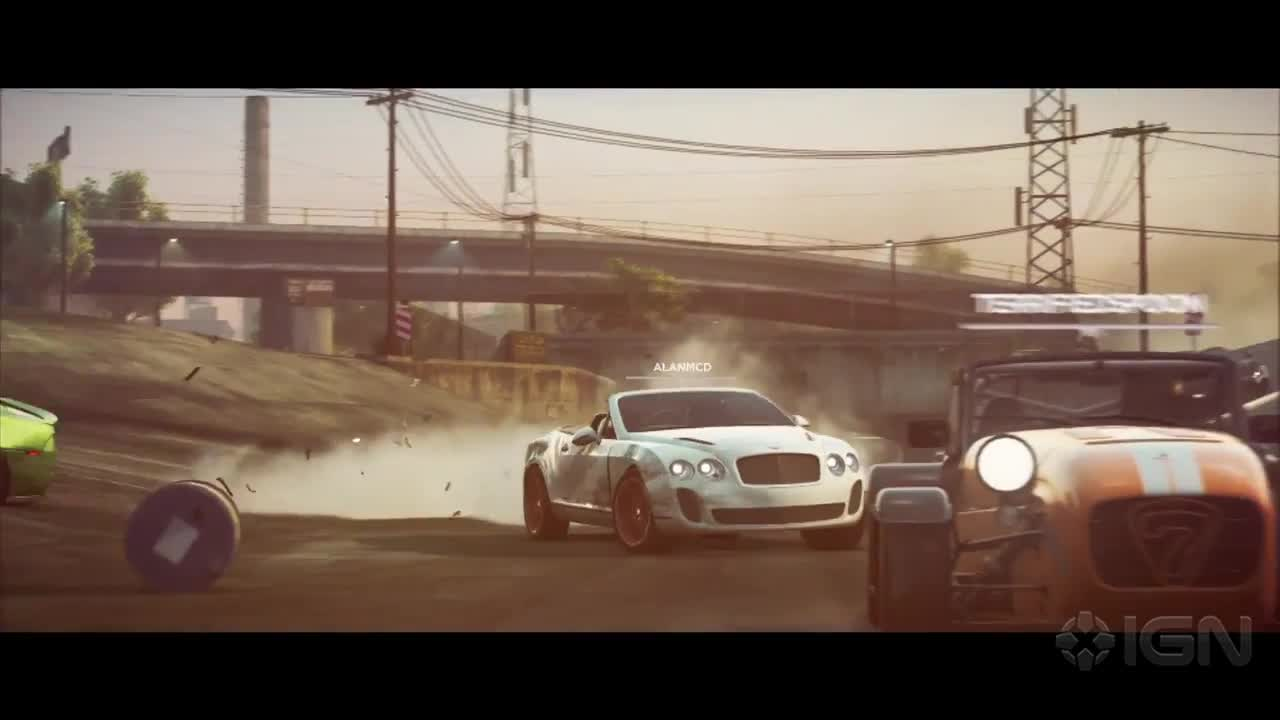 Need For Speed Most Wanted Multiplayer Trailer IGN Video