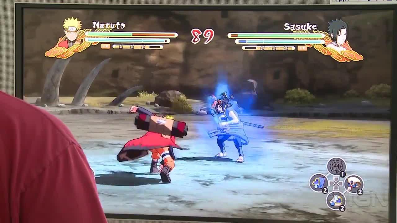 Naruto Shippuden Ultimate Ninja Storm 3 Naruto