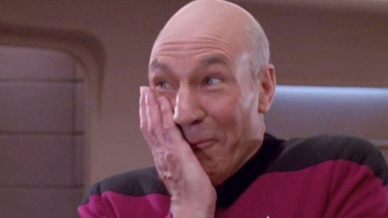 Captain Jean Luc Picard Facepalm