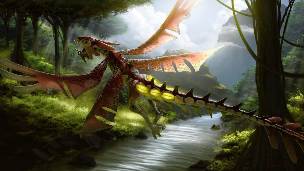 Dragons And Titans Bilebite Reveal Trailer IGN Video