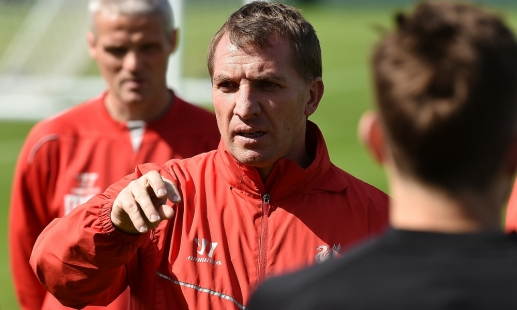 Rodgers on Sterling, Stevie and Stoke