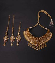 Buy Bridal Jewellery set necklace-set online