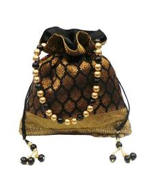 Buy Sequin Top Brocade Potli potli-bag online