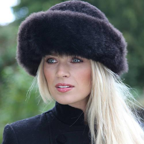 Perilla Alpaca Fur Hat