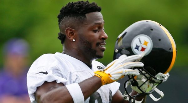 Steelers WR Antonio Brown named latest Madden cover ...
