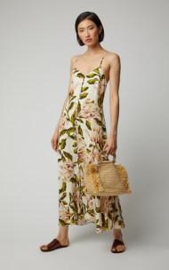 Mara Hoffman Diana floral-print poplin midi dress, finest fashion site, finestfashionsite, ffs
