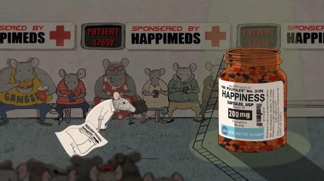 Happiness: la animación como crítica social 9