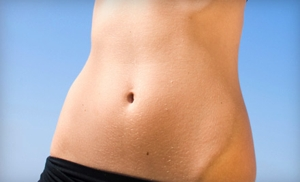 Body-Contouring Wrap with Dry Brushing or Sugar Body Scrub at Kiss Couture Beauty Lounge