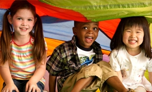 One-Month Membership with Waived Initiation Fee to Gymboree Play & Music. Five Locations Available.