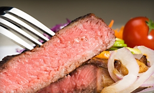 $15 for $30 Worth of Steak House Fare at Cattleguard Restaurant & Bar