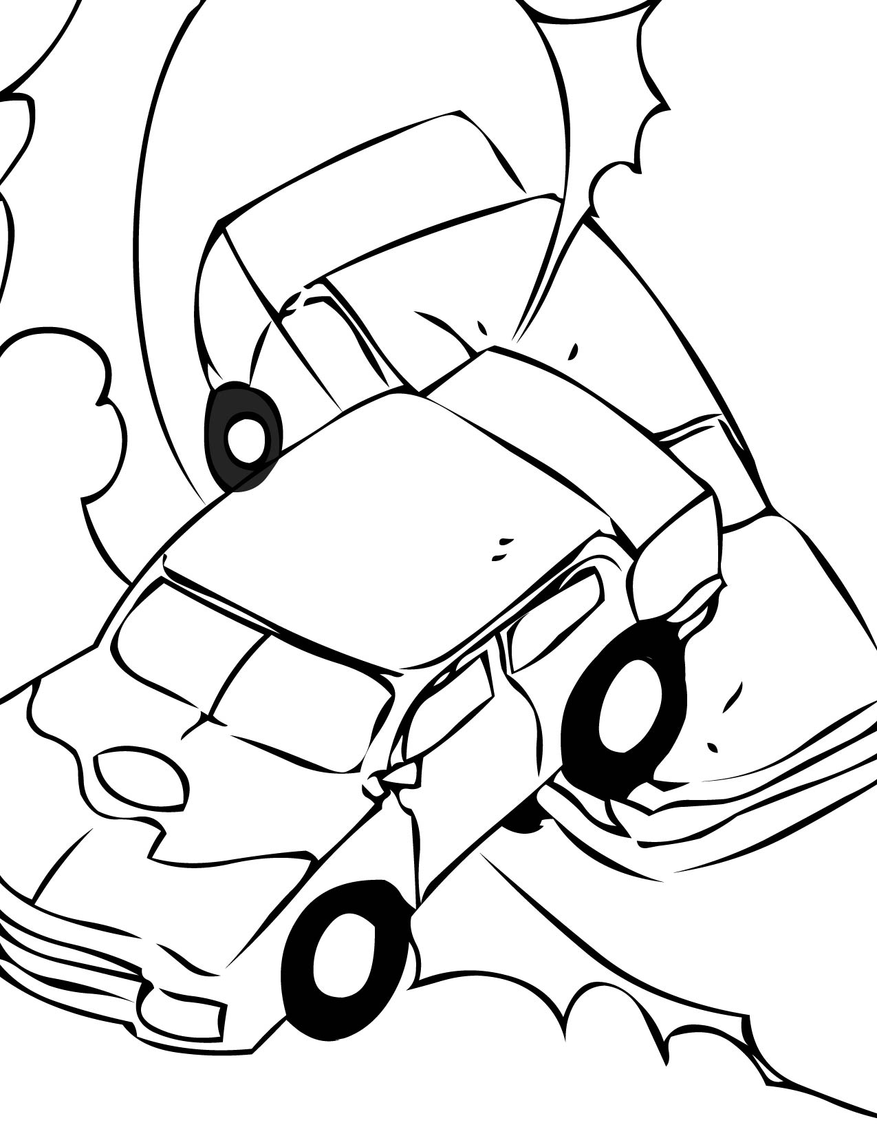 wiring diagram database  crash derby cars coloring pages coloring pages