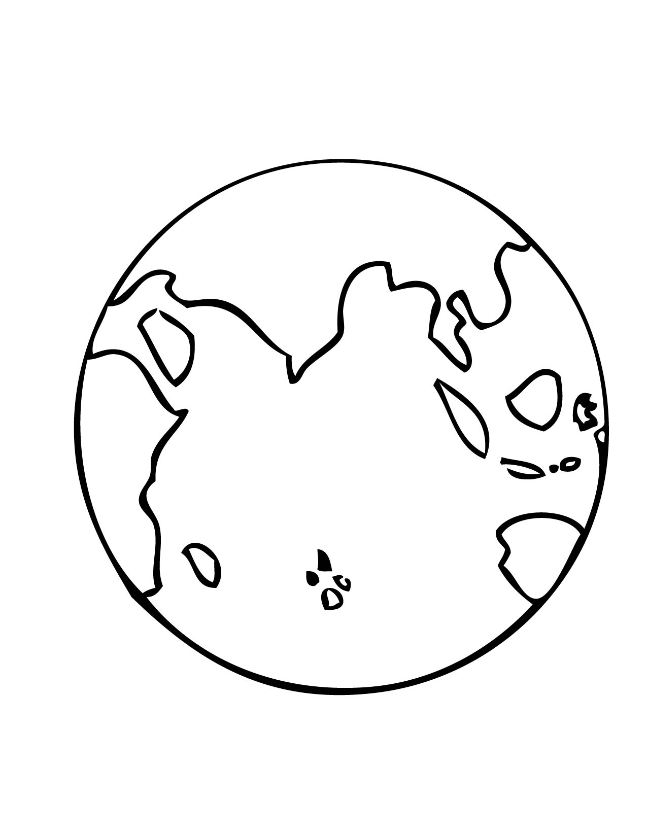 Earth Layers Coloring Worksheet Sketch Coloring Page