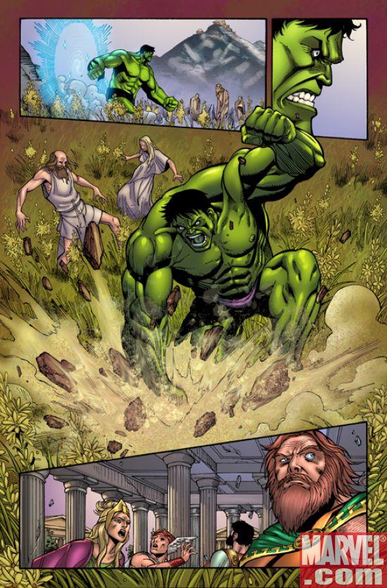 Hulk Vs Hercules When Titans Clash Pictures Images IGN