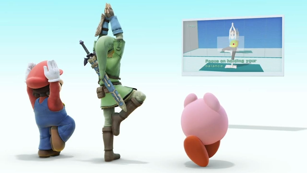 Smash Bros Wii U Male Wii Fit Trainer Spotted IGN