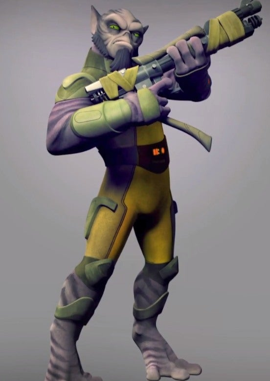 Star Wars Rebels Exclusive First Look Meet Zeb IGN