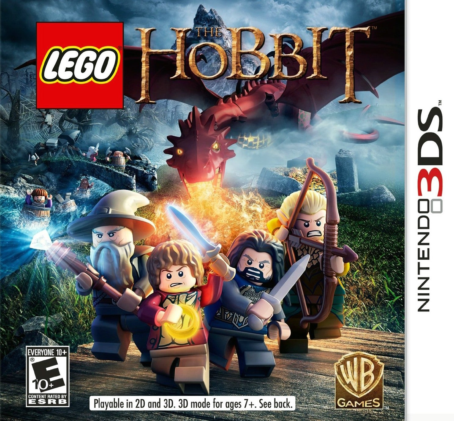 LEGO The Hobbit 3DS Review IGN