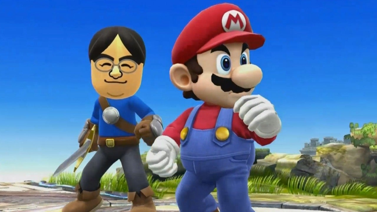 E3 2014 Mii Fighter Playable In Smash Bros 3DS Wii U IGN