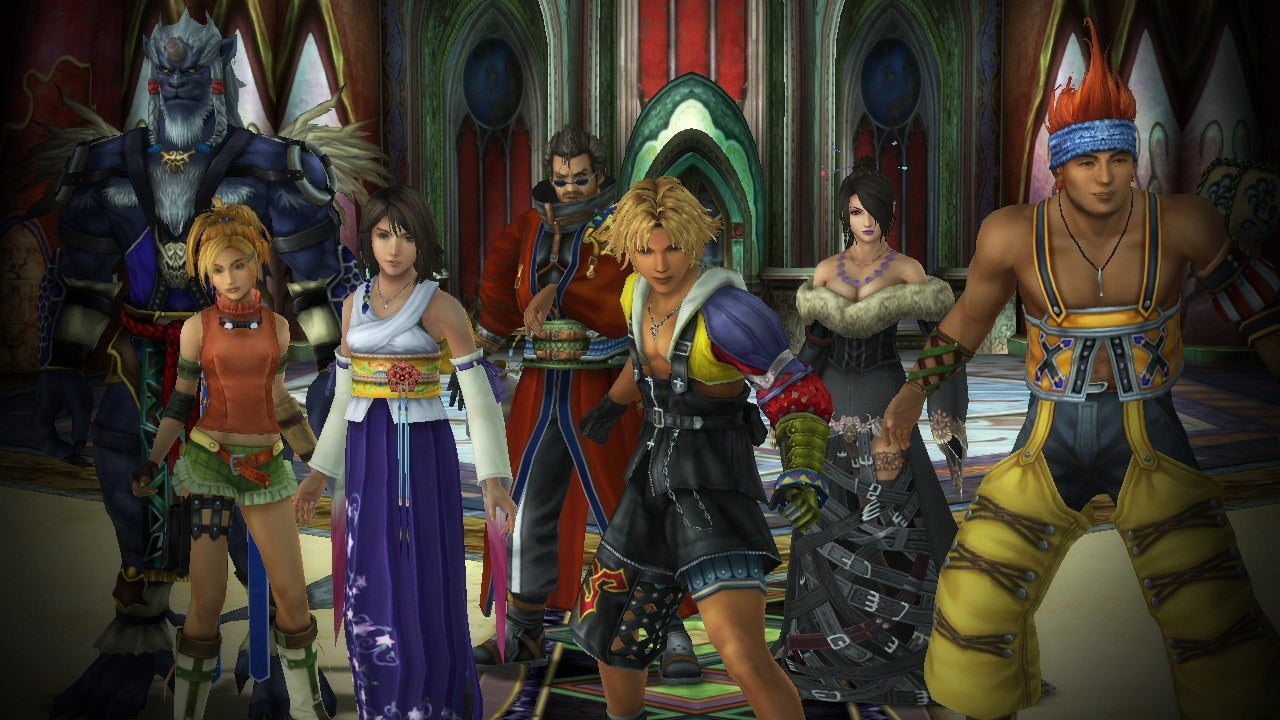 Final Fantasy X X 2 HD Remaster Coming To PS4 IGN