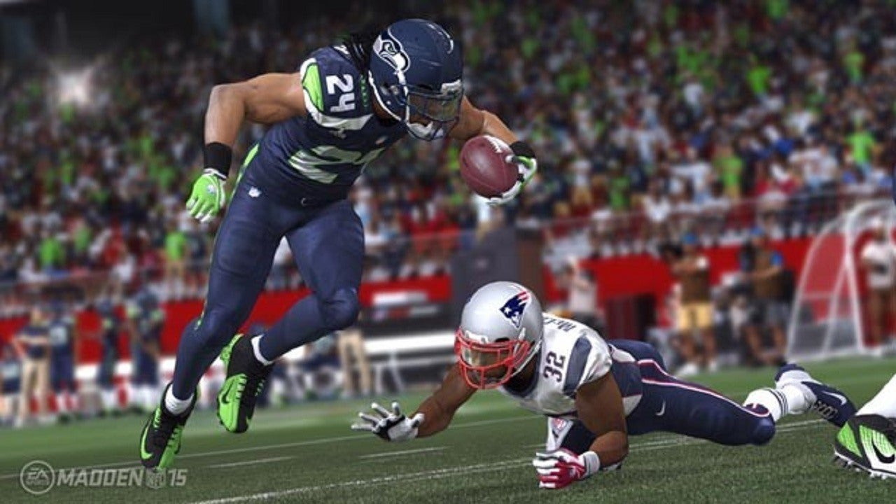 Madden NFL 15 Super Bowl Prediction Nails Super Bowl XLIX Score IGN
