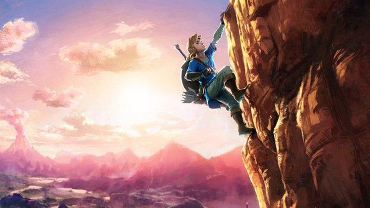 Wild Breath World Zelda