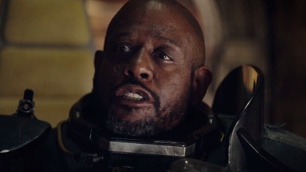 Star Wars Rogue Ones Forest Whitaker On Saw Gerreras