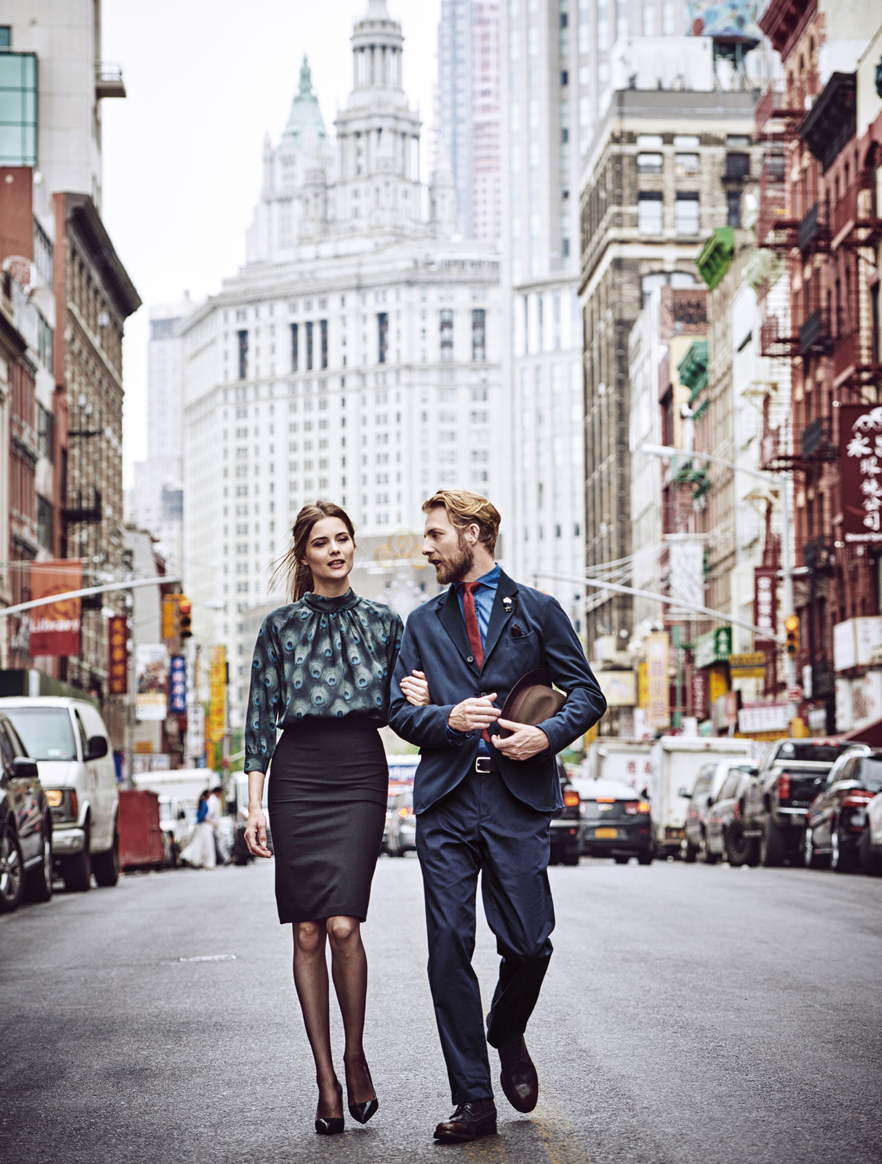 Thomas Pink Unveils An Englishman In New York Campaign