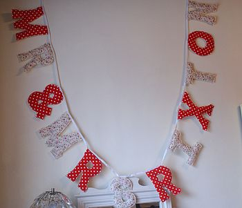 Polka wedding garland