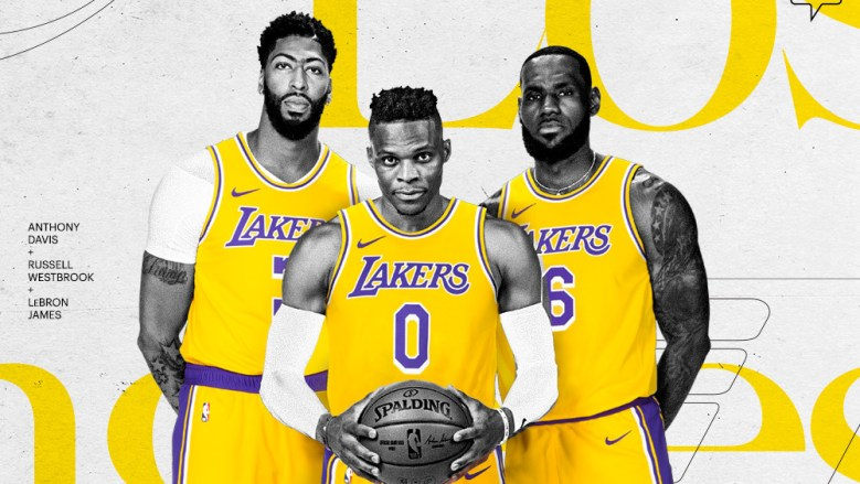 Lakers formally announce Russell Westbrook deal