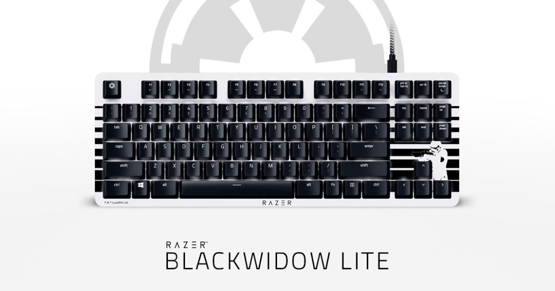 Computer Keyboard - Razer BlackWidow Lite Stormtrooper™ Edition