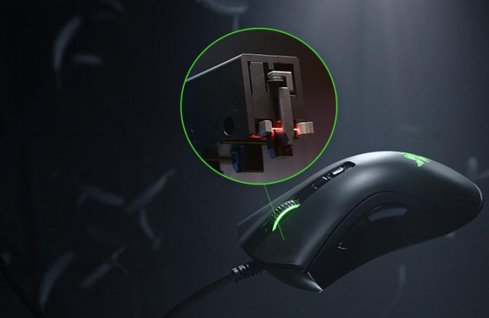Wired Ergonomic Gaming Mouse Razer Deathadder V2