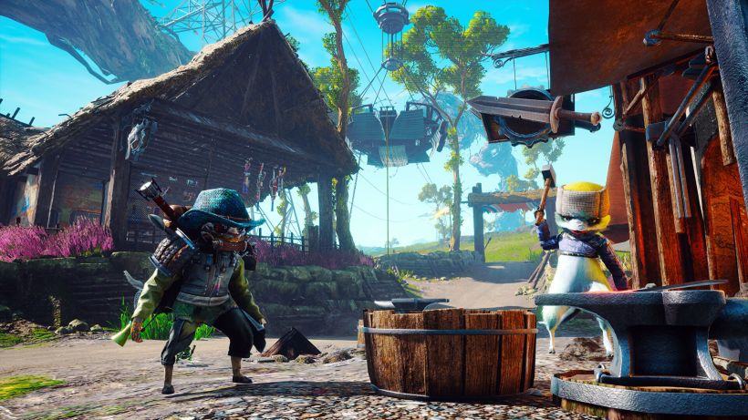 Biomutant is still looking slick ahead of launch this month | Rock Paper  Shotgun