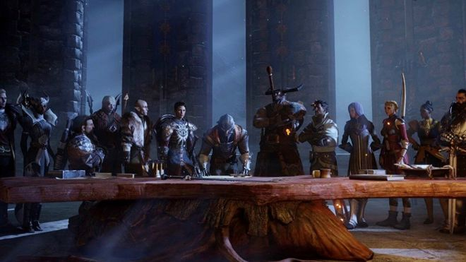 dragon-age-inquisition-table The Electronic Wireless Show Podcast episode 143: the ideal E3 special   Rock Paper Shotgun