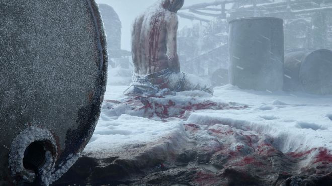 frostpunk-teaser-b Frostpunk devs teasing a new game with snow, oil, and blood | Rock Paper Shotgun