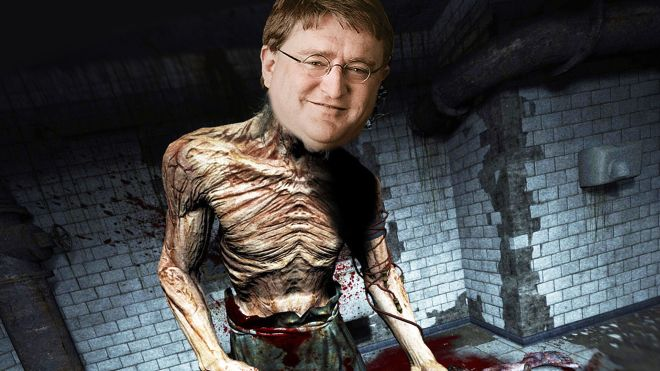 gabe-newell-outlast Mystery Steam Reviews embraces brevity this week | Rock Paper Shotgun